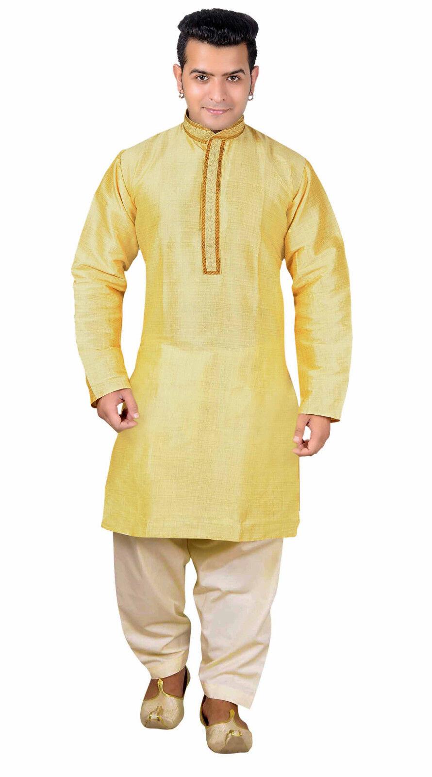 Men Indian Kurta shalwar kameez pyjama Bollywood creations Wedding sherwani 1814
