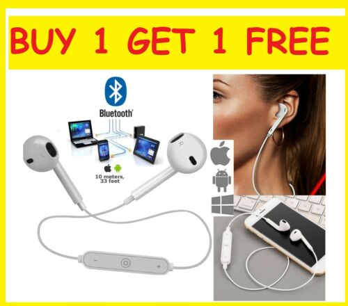 BOGOF Wireless Earphones Bluetooth 4.1 Stereo Headphones For iPhone TWS Sports