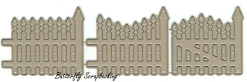 Border Fence Set Craft Steel Die Cutting Dies Impression Obsession DIE034-U New