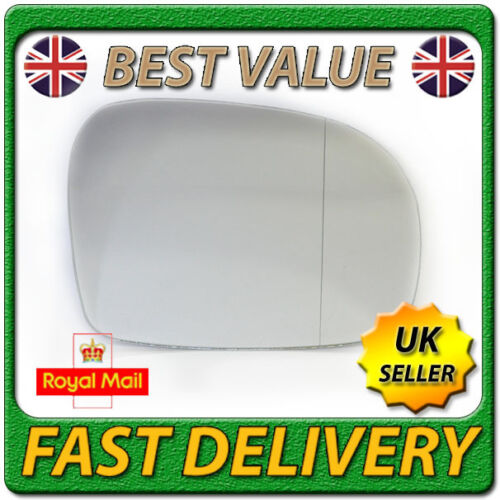 Right Driver Side Wide Angle Wing Mirror Glass for MERCEDES VIANO W639 04-10