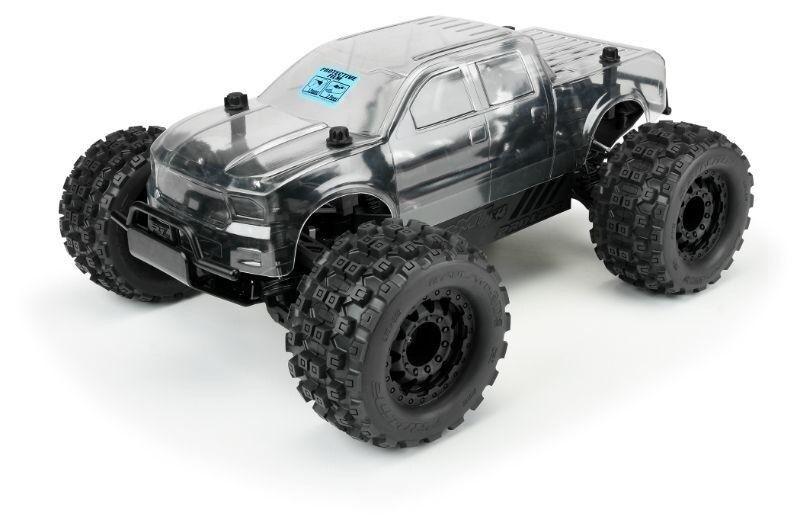 L'achat en deux parties est poli, très satisfait Pro-Line Pro-MT Pro-MT Pro-MT 4x4 Monstre-Camion Pre-Built Roller 1:10 PROLINE - 4005-00 494af9