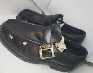 Chaussures 9 pour noires Karl cuir Boucle en Taille Sangle hommes Sandales Nwt Kani ZiuOPkX