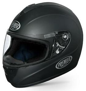 Casco-Premier-Monza-Negro-Mate-talla-S