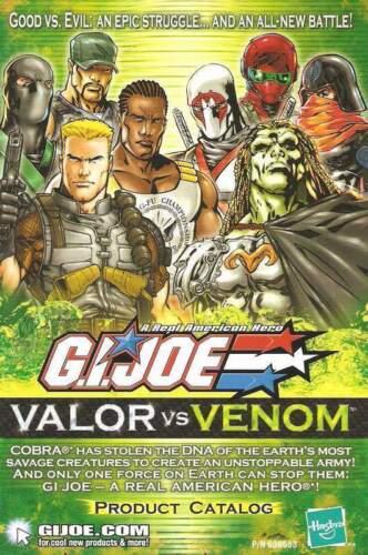 2004 GI Joe Valor vs Venom MINI COMIC #10 COLD FRONT catalog LARRY HAMA JTC