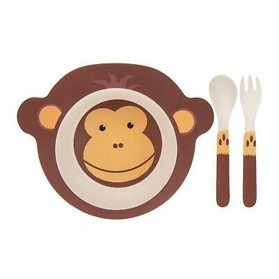 Lesser /& Pavey Girafe Bambou Eco-Friendly animaux 3 Piece enfants Dinner Set Cadeau