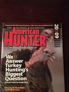 American Hunter April 2009, Six Tricks For Tough Toms, Answering Turkey Huntings