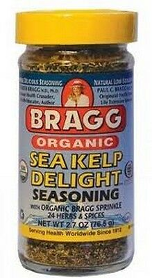Bragg Organic Sea Kelp Delight Seasoning 76.5 | 24 Herbs and Spices Gluten Free