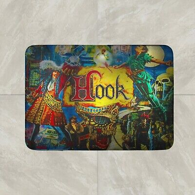 Hook Pinball Game Rug Mat Floor Door Home Cotton
