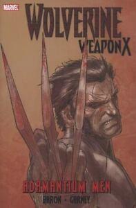 Wolverine-Weapon-X-Adamantium-Men-X-Men-Hardcover-New-Sealed-HC-Marvel-Universe