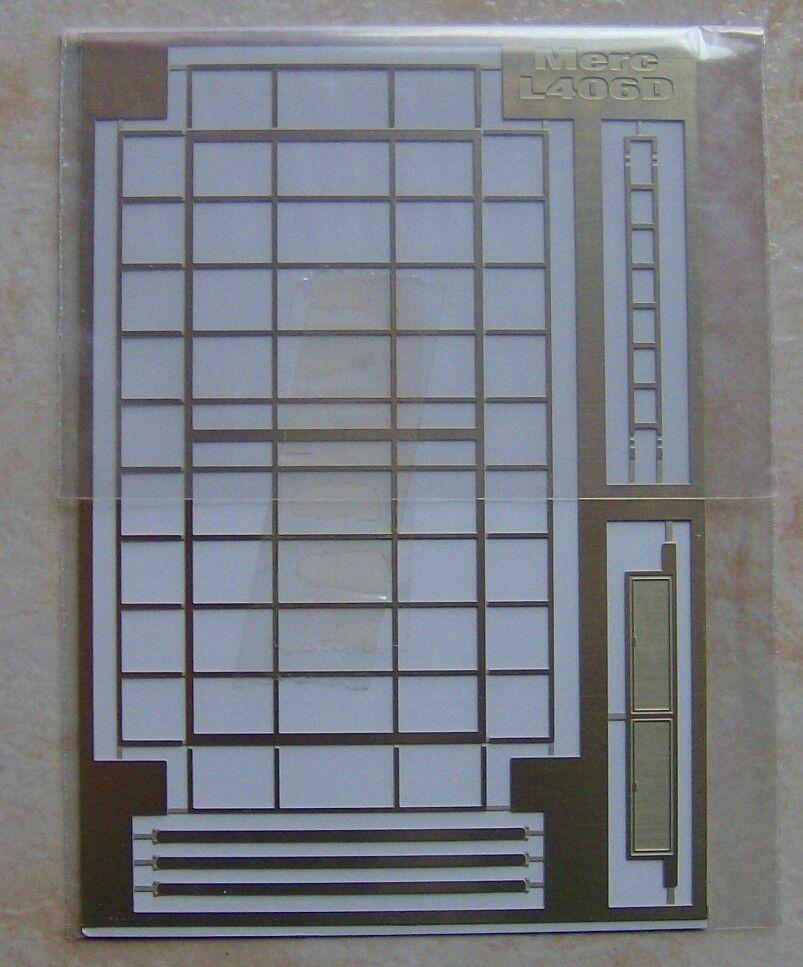 GALERIE DE TOIT CAMION MERCEDES 406 ASSISTANCE RALLYE METAL AU 1 43 90 X 43 mm