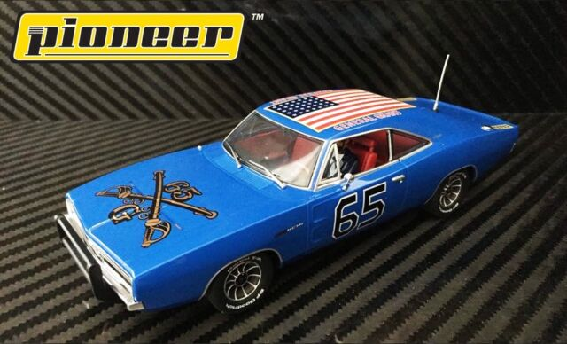 Pioneer The General Grant Blue 1969 Dodge Charger Dpr 1 32 Scale Slot