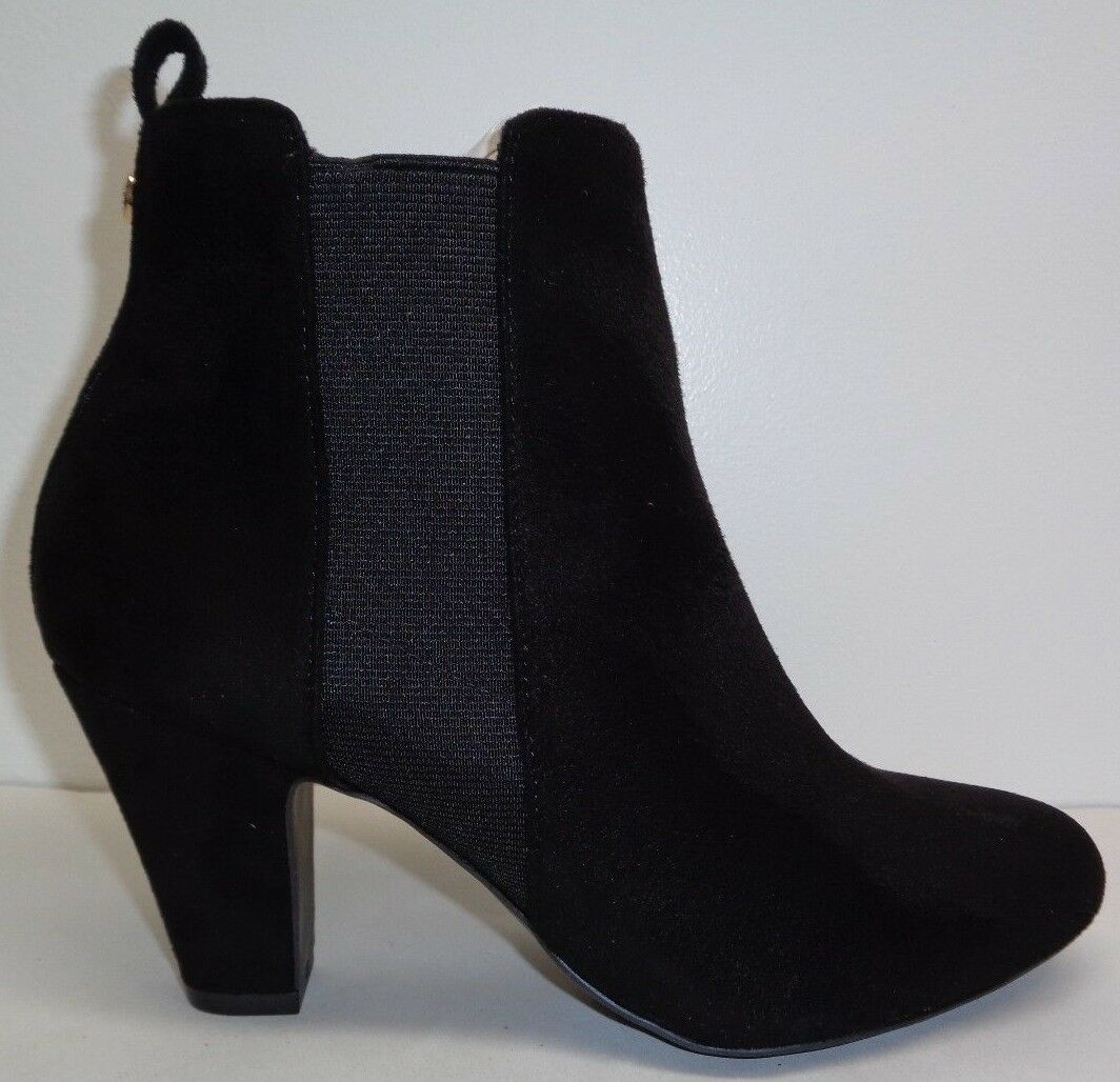 BCBG BCBGeneration Size 7.5 DONAHUE Black Bootie Heels Boots New Womens Shoes