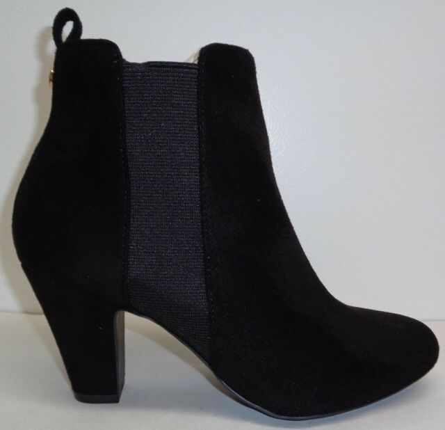 ccaaae4d3600 BCBG BCBGeneration Size 7.5 DONAHUE Black Bootie Heels Boots New Womens  Shoes