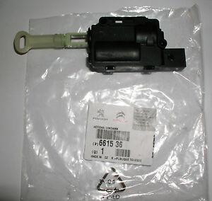 Original peugeot 1007 actionneur moteur pour lat rale porte coulissante 661536 ebay - Moteur porte coulissante ...