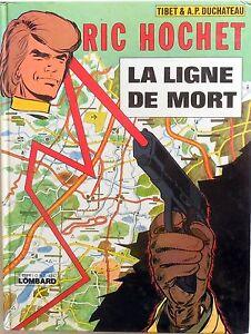 FUMETTO-RIC-HOCHET-LA-LIGNE-DE-MORT-EDITIONS-DU-LOMBARD-1976