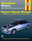Mitsubishi Magna Australian Automotive Repair Manual: 1991 to 1996 by J. H. Haynes, Eric Godfrey (Paperback, 2000)