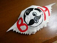 Natty Boh Painted On A Crab Shell Ornament
