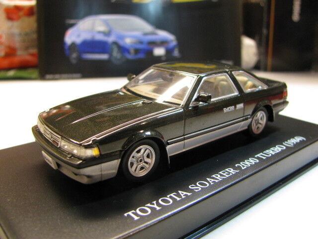 edición limitada 1 43 Jugueteota Soarer Soarer Soarer 2000 Turbo (1984) Diecast  suspensión ajustable  todos los bienes son especiales