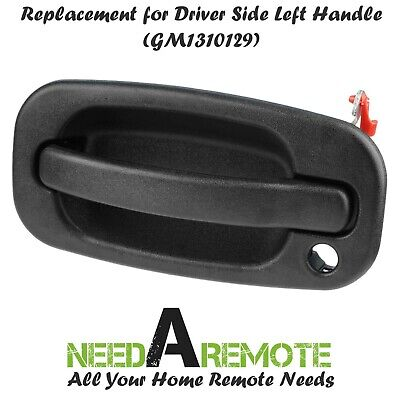 Chrome Exterior Door Handle Front Left LH Driver for 99-07 Silverado Tahoe Yukon