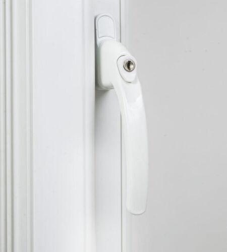 Endurance Inline Verrouillage Blanc Fenêtre Poignée 30 mm Broche