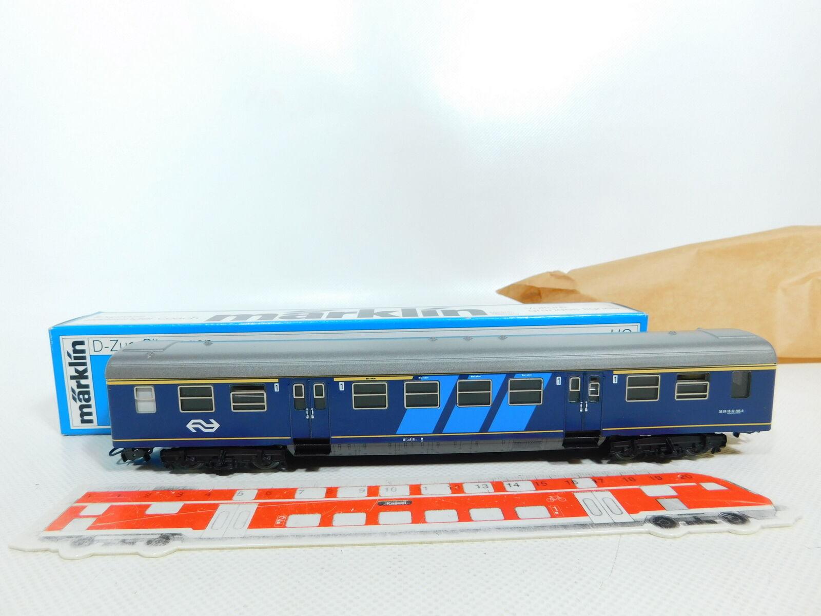 BV83-0,5 BV83-0,5 BV83-0,5 Märklin H0 Ac 4117 Foglio Metallo D Treno-Seggiolino NS ; Conf. Orig. aa07c1