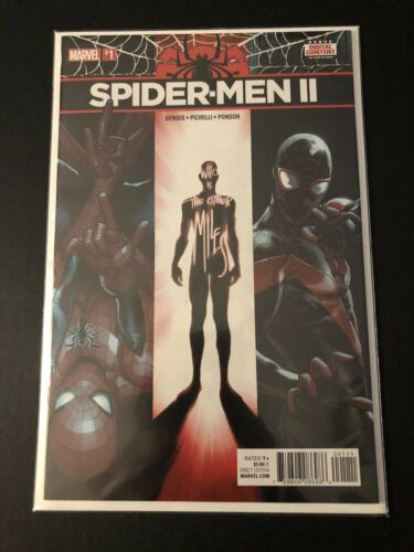 Spider-Men II #1 First Appearance 616 Evil Miles Morales NM