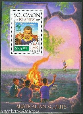 Boy Scouts Stamps Genteel Solomon Islands 2014 Australian Scouts S/s Mint Nh Street Price