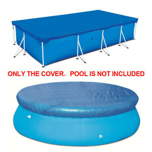 Swimming Pool Cover Protection Case For Rectangular Round