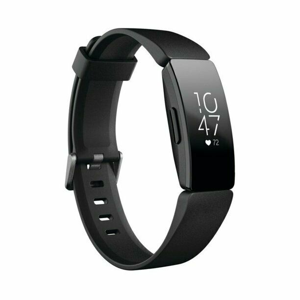 "Fitbit Inspire HR Fitness Tracker - Black (FB413BKBK) ""Brand New"" black fitbit fitness inspire tracker"