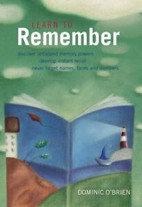 Very Good 1900131935 Paperback Learn to Remember Transform Your Memory Skills D - Lampeter, United Kingdom - Very Good 1900131935 Paperback Learn to Remember Transform Your Memory Skills D - Lampeter, United Kingdom