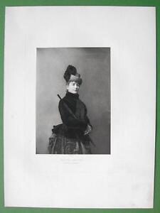 MADAME-BARETTA-Actress-of-La-Comedie-Francaise-Victorian-Era-Antique-Print