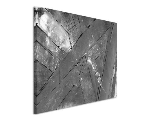 Leinwandbild abstrakt schwarz grau weiß Paul Sinus Abstrakt/_858/_120x80cm