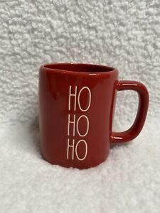 NEW-Rae-Dunn-HO-HO-HO-Red-Glossy-Christmas-Holiday-Mug-2020