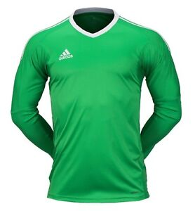 d00accf56 Image is loading Adidas-Men-REVIGO-17-Goalkeeper-Shirts-Soccer-Green-