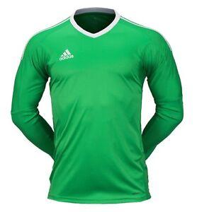 3ea7867788d Image is loading Adidas-Men-REVIGO-17-Goalkeeper-Shirts-Soccer-Green-