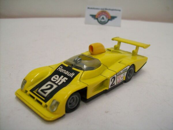 "Nuova Moda Alpine Renault A442b #2 ""le Mans 1978"", Giallo, Solido (made In France) 1:43"