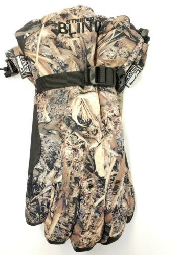 Striker Ice Blind Climate Chisled Chaos Camo Hunting Gloves