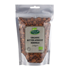 Organic Bitter Apricot Kernels 250g - Free UK Delivery