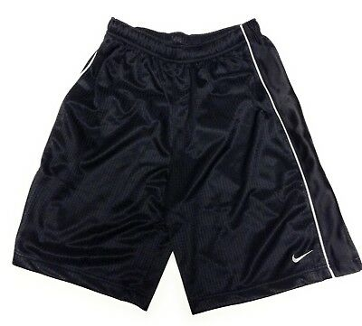 NEW Boys Kids Youth Nike 274456 010 Black White Athletic Style Shorts