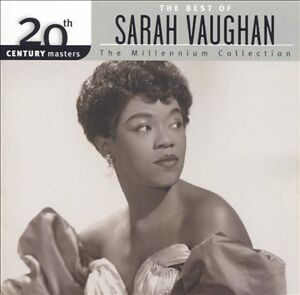 SARAH-VAUGHAN-The-Best-Of-CD-NEW-20th-Century-Masters-Milllennium-Collection