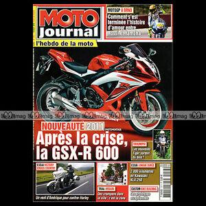 MOTO-JOURNAL-N-1917-TRIUMPH-650-THUNDERBIRD-6T-KAWASAKI-KLX-250-MOTOGP-2010
