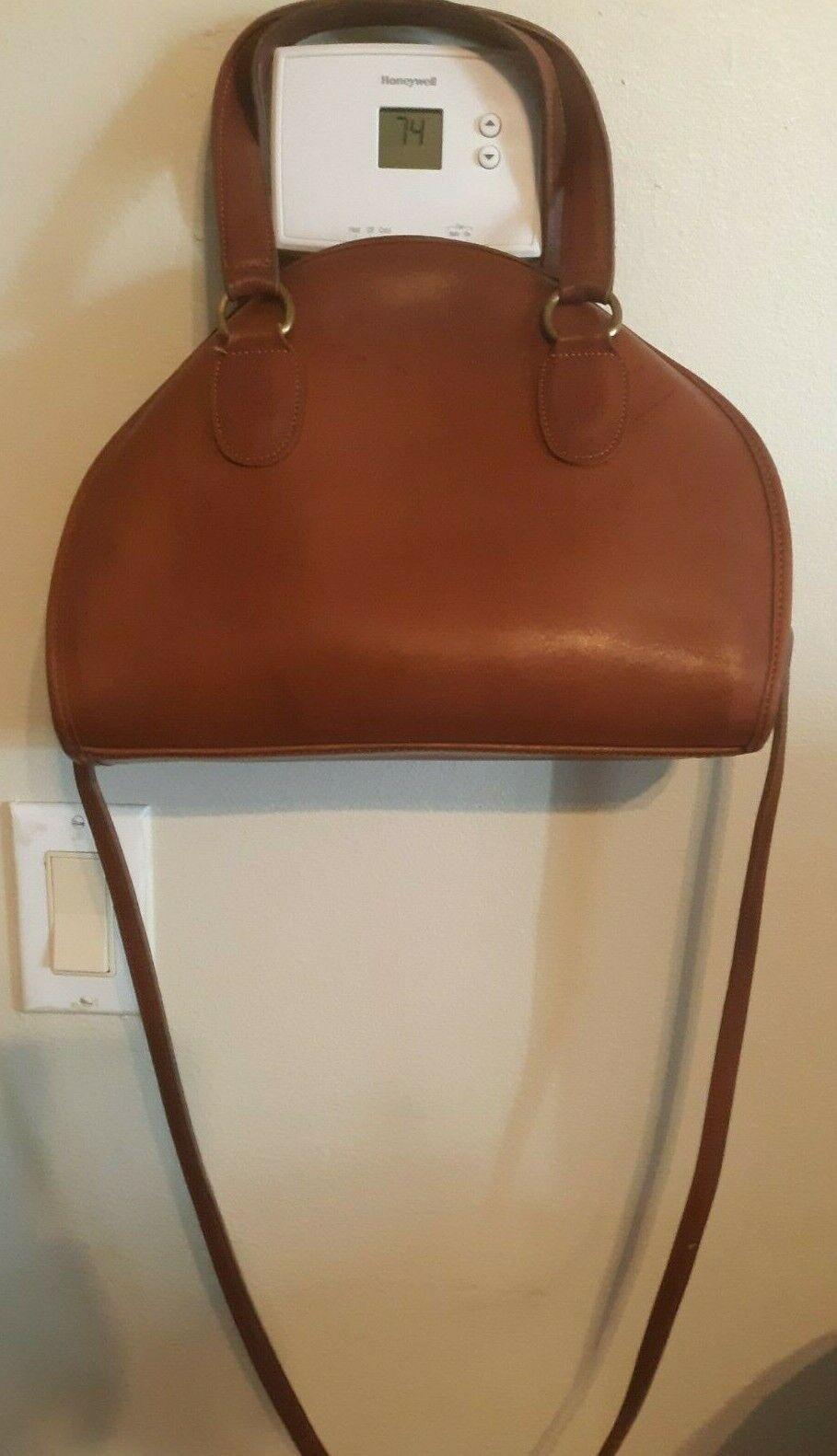 Vintage Coach Bonnie Cashin Brown Leather Satchel - image 1