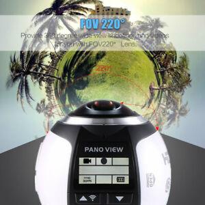 360-Degree Panoramic Camera Wifi Mini Sport Camera Ultra HD 30FPS 16M Film USA