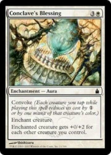 8x Conclave/'s Blessing NM MTG Ravnica Magic Gathering