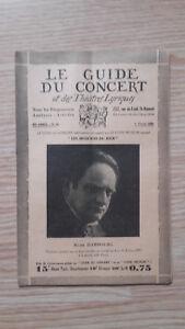 El Guía de La Concierto Y Las Teatro Letra - Mark Hamburg - N º 18-1929