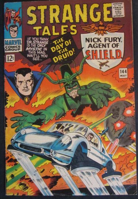 STRANGE TALES 144 VG  May 1966 COMICS BOOK
