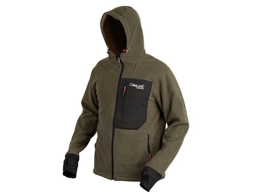 Prologic Commander Fleece Jacket M-XXL Atmungsaktiv 100% Polarfleece