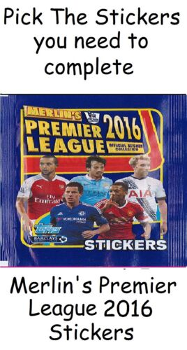 Merlin Premier League 2002 2004 2005 2006 merlins Pick the stickers you need.