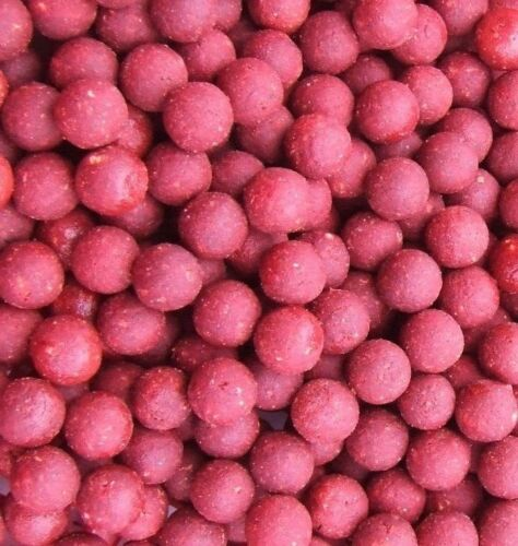 Strawberry Jam Shelflife Fishmeal Boilies 12MM Carp Fishing All Pack Sizes
