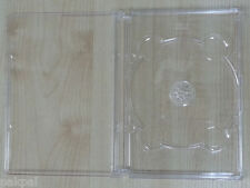 100 NEW SUPER DVD CASE, SUPER JEWEL BOX KING CLEAR,SF11 SALES